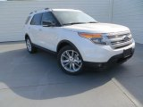 2014 White Platinum Ford Explorer XLT #87911003