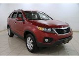2011 Spicy Red Kia Sorento LX #87911182