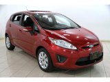 2013 Ruby Red Ford Fiesta SE Hatchback #87911178