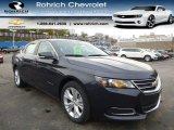 2014 Blue Ray Metallic Chevrolet Impala LT #87958134