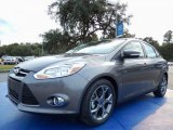2014 Sterling Gray Ford Focus SE Sedan #87957800