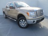 2011 Pale Adobe Metallic Ford F150 XLT SuperCrew 4x4 #87957953