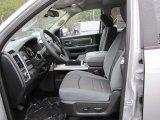 2014 Ram 1500 Outdoorsman Crew Cab 4x4 Black/Diesel Gray Interior