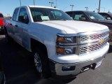 2014 Summit White Chevrolet Silverado 1500 LT Double Cab 4x4 #87958038