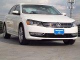 2014 Candy White Volkswagen Passat V6 SEL Premium #87958117