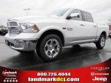 2014 Bright White Ram 1500 Laramie Crew Cab #87957853