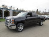 2014 Tungsten Metallic Chevrolet Silverado 1500 LT Double Cab 4x4 #87957784
