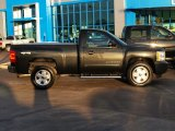 2009 Black Chevrolet Silverado 1500 LS Regular Cab 4x4 #87957697