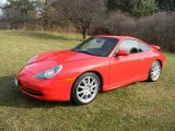 1999 Guards Red Porsche 911 Carrera Coupe #87958016