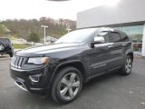 2014 Brilliant Black Crystal Pearl Jeep Grand Cherokee Overland 4x4 #87958011