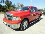 2012 Flame Red Dodge Ram 1500 Big Horn Crew Cab #87958075