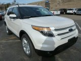 2014 White Platinum Ford Explorer Limited 4WD #87998996