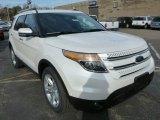 2014 White Platinum Ford Explorer Limited 4WD #87998996