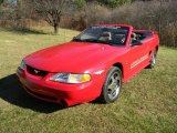 1994 Rio Red Ford Mustang Cobra Convertible #87999125