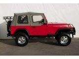 1989 Jeep Wrangler Bright Red