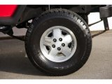 Jeep Wrangler 1989 Wheels and Tires