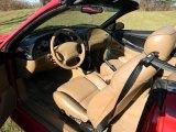 1994 Ford Mustang Cobra Convertible Saddle Interior