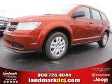 2014 Copper Pearl Dodge Journey Amercian Value Package #87999021