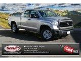 2014 Silver Sky Metallic Toyota Tundra SR Double Cab 4x4 #87998862