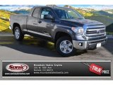 2014 Magnetic Gray Metallic Toyota Tundra SR5 Double Cab 4x4 #87998861