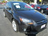 2012 Tuxedo Black Metallic Ford Focus Titanium Sedan #87998925