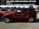 2014 Copperhead Pearl Jeep Wrangler Unlimited Sahara 4x4 #87998980