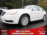 2014 Bright White Chrysler 200 LX Sedan #87999013