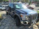 2012 Dark Blue Pearl Metallic Ford F250 Super Duty Lariat Crew Cab 4x4 #87998922