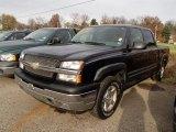 2005 Black Chevrolet Silverado 1500 LS Crew Cab 4x4 #87999063