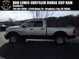 2014 Bright Silver Metallic Ram 1500 Big Horn Quad Cab 4x4 #87998972