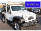 2012 Bright White Jeep Wrangler Sport 4x4 #88016237