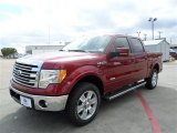 2013 Ruby Red Metallic Ford F150 Lariat SuperCrew 4x4 #88016260