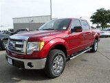 2013 Ruby Red Metallic Ford F150 XLT SuperCrew 4x4 #88016258