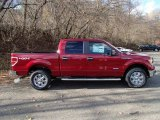 2013 Ruby Red Metallic Ford F150 XLT SuperCrew 4x4 #88024187