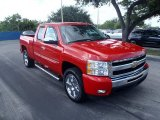 2011 Victory Red Chevrolet Silverado 1500 LT Extended Cab #88024548
