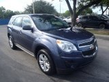 2014 Atlantis Blue Metallic Chevrolet Equinox LS #88024546