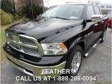 2012 Black Dodge Ram 1500 Laramie Crew Cab 4x4 #88024421