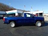 2014 Blue Topaz Metallic Chevrolet Silverado 1500 WT Regular Cab 4x4 #88024219