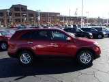 2014 Remington Red Kia Sorento LX #88024215