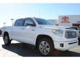 2014 Super White Toyota Tundra Platinum Crewmax #88024273