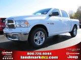 2014 Bright White Ram 1500 Big Horn Crew Cab #88024261