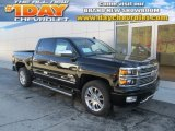 2014 Black Chevrolet Silverado 1500 High Country Crew Cab 4x4 #88024148