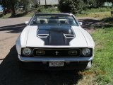 1972 Ford Mustang White