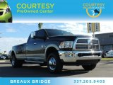2010 Rugged Brown Pearl Dodge Ram 3500 Laramie Crew Cab 4x4 Dually #88059709