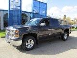 2014 Tungsten Metallic Chevrolet Silverado 1500 LT Crew Cab 4x4 #88059274