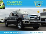 2012 Dark Blue Pearl Metallic Ford F250 Super Duty Lariat Crew Cab 4x4 #88059705