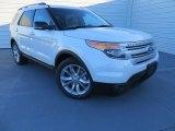 2014 White Platinum Ford Explorer XLT #88059441