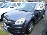 2014 Atlantis Blue Metallic Chevrolet Equinox LT #88059185