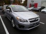 2012 Ice Silver Metallic Subaru Impreza 2.0i Premium 4 Door #88059695