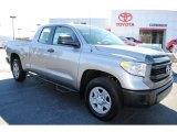 2014 Silver Sky Metallic Toyota Tundra SR Double Cab #88059341